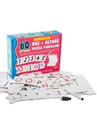 Bunjoy Diy-Toy Yaz-Sil Alfabe Puzzle 1376 Renkli